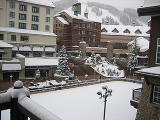 Beaver Creek condo photo - View From Your Heated Balcony