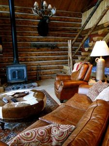 Cozy Woodstove in Living Area