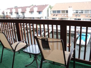 9400 Oceanside Ocean City condo photo - Big Balcony View