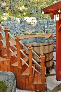 Wine Barrel Hot Tub