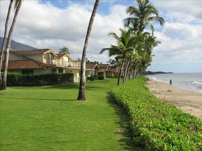 Lahaina townhome rental - Part of the beach scene at Puamana