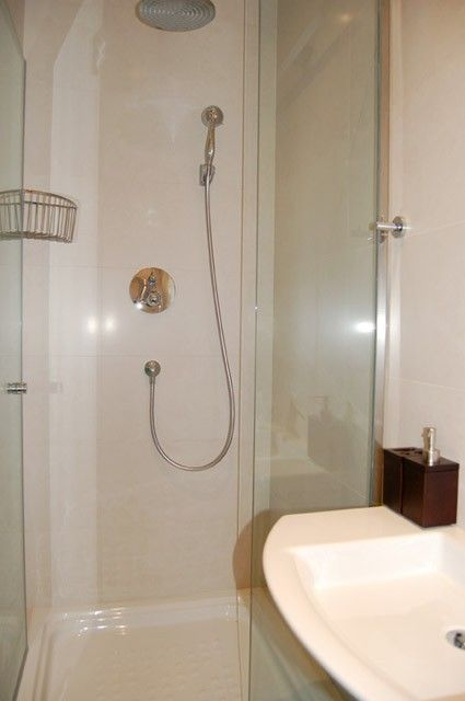 Ensuite bathroom from 2nd bedroom with shower