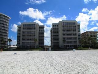 Crescent Arms towers from the Beach