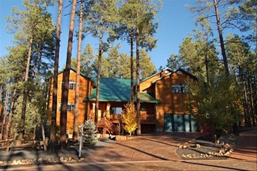 Wright family cabin spectacular 7 1 bedroom cabin in pinetop