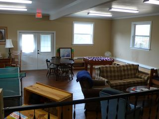 Greers Ferry Lake lodge photo - Recreation room