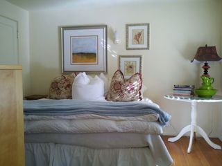 Guest Room - Twin Beds can be put together to form a King Bed when requested.