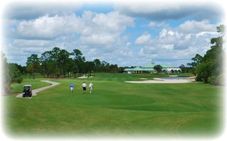 Port St. Lucie house photo - Four golf courses