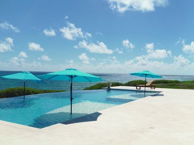 Casa Gemelos is a Luxurious Oceanfront Vacation Home on the Southern End of Isla