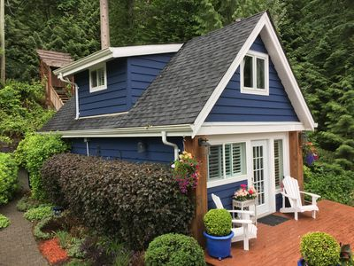 Seaside Garden Cottage on Scenic Indian Arm, North Vancouver