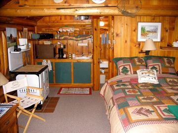Detached Cabin interior