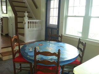 Block Island cottage photo - dining table in Kitchen