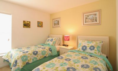 Solana Resort villa rental - The Third Bedroom - Two Twin Size Beds