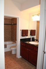 Scottsdale North condo photo - Master en suite with tile flooring and roman tub.