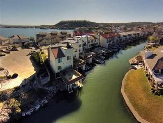 Horseshoe Bay townhome photo - Arial view of complex in canal