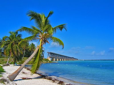 Visit Bahia Honda's sandy beaches and see the famous Bahia Honda Bridge
