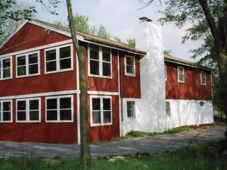 View of House facing the lake! - Tannersville house vacation rental photo