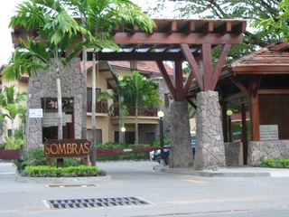 Playa del Coco condo photo - Front gate to Sombras