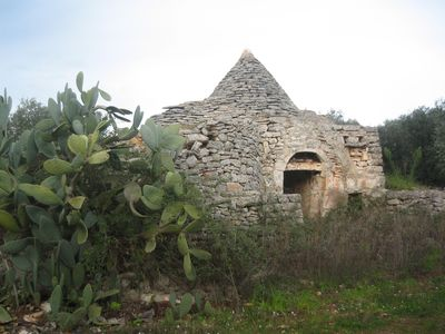 Trullo Santana before restoration