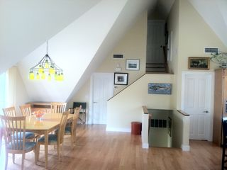 Wellfleet house photo - Bright dining room area with gorgeous natural light