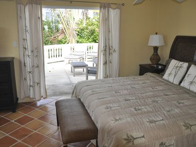 Vieques Island house rental - Master another view