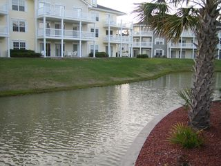 Calabash condo photo - enjoy the view on the back patio
