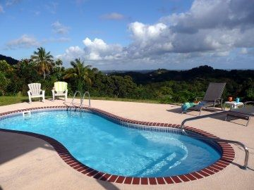 Relax on Beside the Beautiful Pool w/ Wonderful Rainforest and Ocean Views