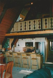Harbor Springs house rental - View from Dining Area