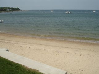 Pocasset house photo - private beach at the end of our street