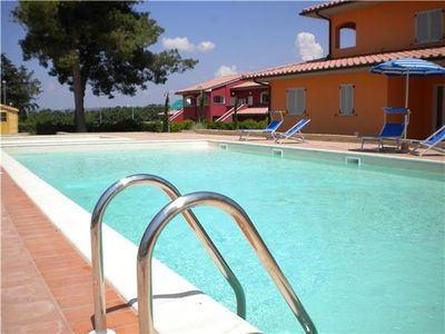 Apartment for 4 people, with swimming pool, in Maremma