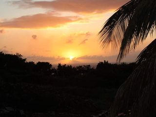 Montserrat villa photo - Sunset from our pool deck!