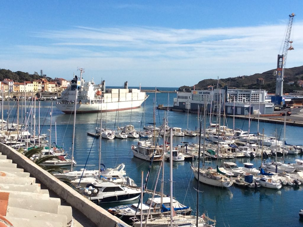 port vendres ville voyages cartes