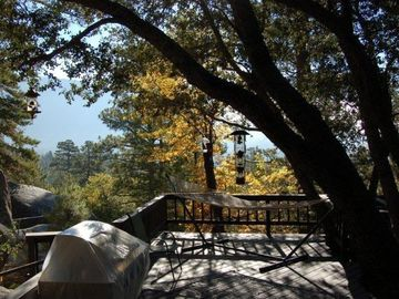 Idyllwild lodge rental - Upper Deck