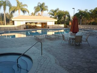 East Naples house photo - JACUZZI TUB & FITNESS CENTER POOL