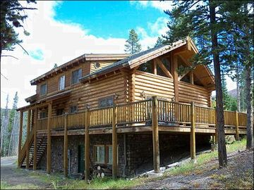 Breckenridge house rental - Beautiful Log Home Nestled in Nature