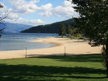 Views from around Sandpoint: City beach