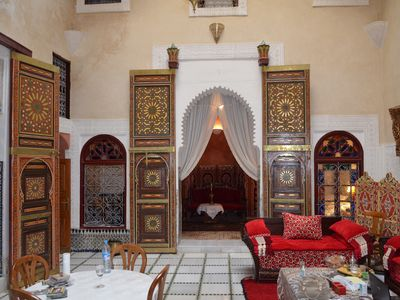 traditional and modern Riad in Meknes for 10 to 12 people