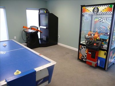 On-Site Game Room - for the kids