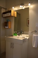 Monterey apartment photo - cozy bathroom with shower