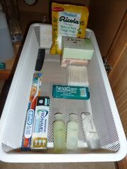 Austin cottage photo - Basic toiletries, under the vanity, just in case you forgot something