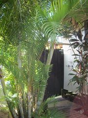 Sunset Beach house photo - Outdoor Tropical Bamboo Shower