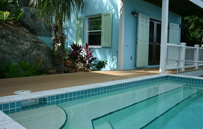 Try a quick morning dip, just steps from your bedroom!