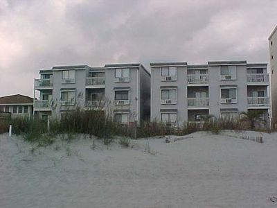 A look at Sunvillas from the ocean front