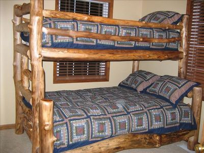 Additional Upstairs Bedroom With Bunk Beds