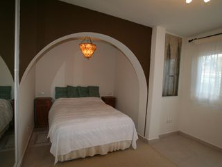 Caleta de Velez villa photo - Bedroom 2. Access to east side and terrace. Big closet.