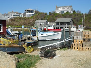 Another view perspective of Menemsha Harbor