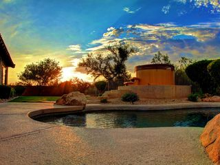 Scottsdale house photo - Sunset at Casa Mark