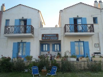 The Kyparissis Beach houses