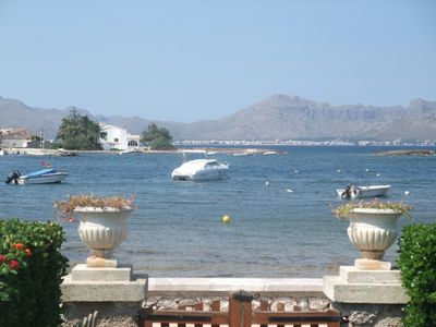 Puerto de Alcudia chalet rental - View from garden/lounge/terrace area