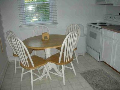 Dewey Beach house rental - Spacious, eat-in kitchen
