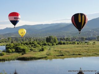 Steamboat Springs condo photo - Hot Air Ballon Fest
